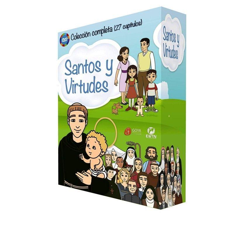 SANTOS Y VIRTUDES. PACK DVDS. 27 CAPÍTULOS. X 25 MINUTOS