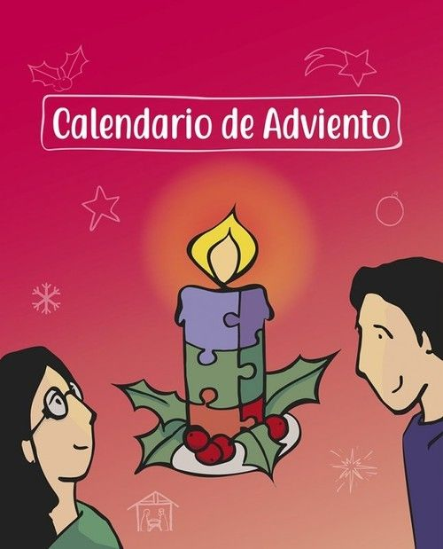 Calendario de Adviento. Mensajero