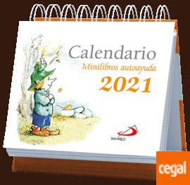 CALENDARIO 2021 ATRIL MINI LIBROS AUTOAYUDA