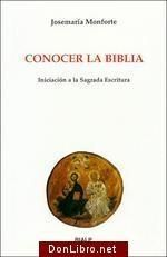 CONOCER LA BIBLIA